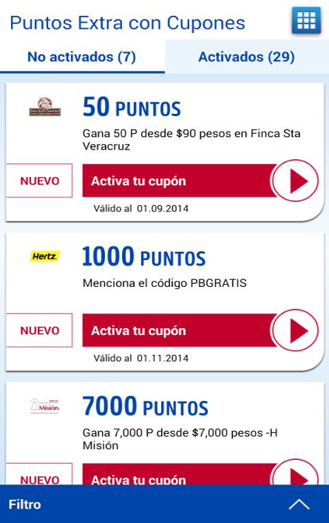 PAYBACK móvil - screenshot