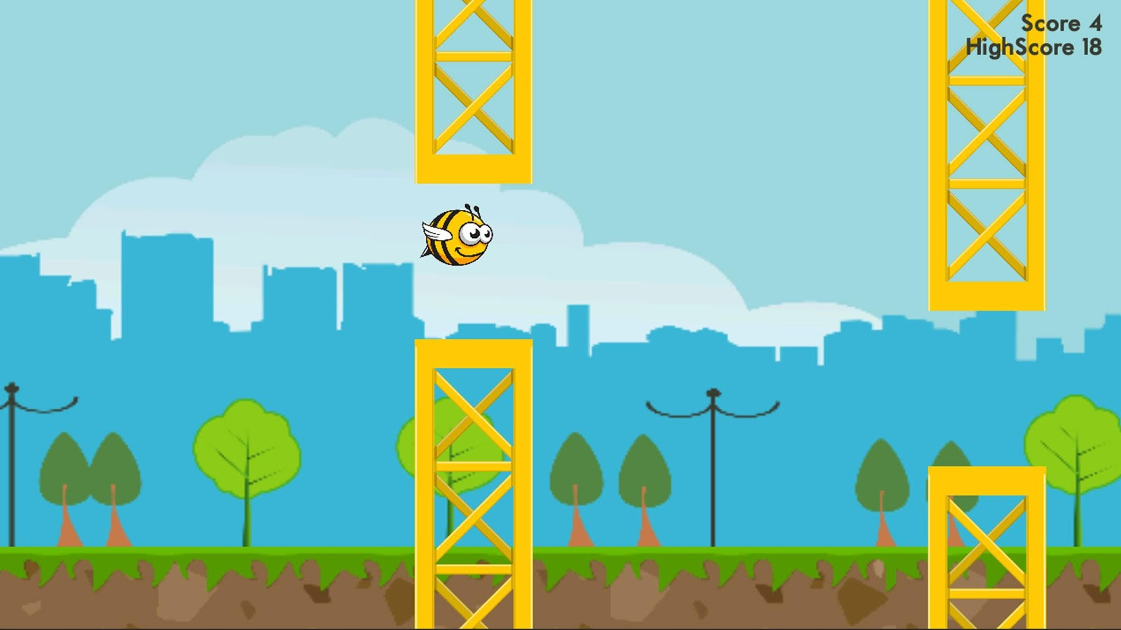 City Bee- screenshot
