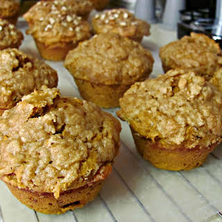 Pumpkin Spice Muffins with Streusal.