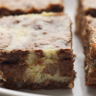 Hazelnut Cream Cheese Brownies.