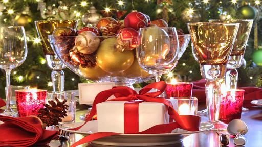 Decoracion Mesa para Navidad