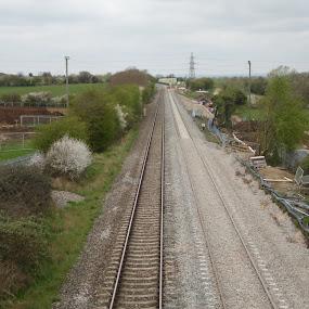 by Ryan Beasant - Transportation Railway Tracks