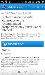 Surgical Endoscopy - screenshot thumbnail