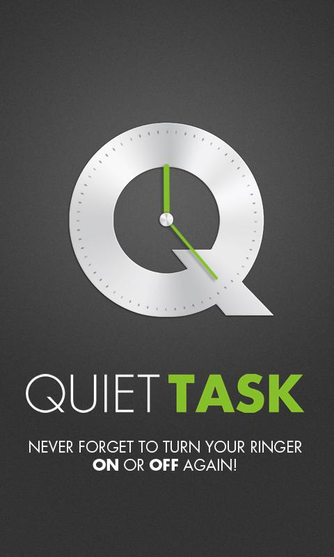 Quiet Task - screenshot