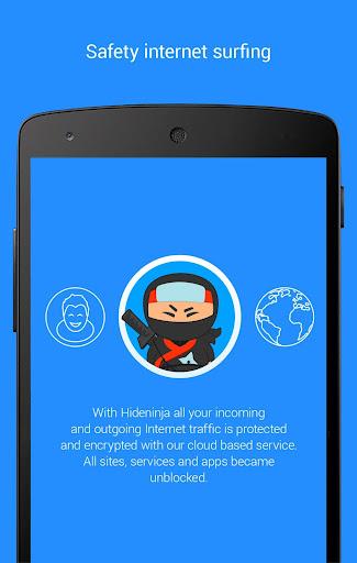 Screenshots #13. VPN Hideninja Best Free VPN / Android