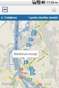 Transport in Riga PRO- screenshot thumbnail