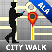 Almaty Map and Walks