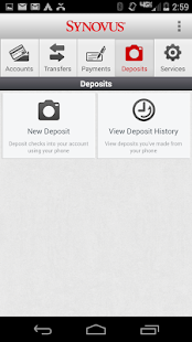 Synovus Mobile Banking 2.0.0 - screenshot thumbnail