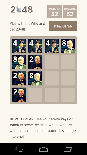 Dr Who The Doctors Puzzle 2048