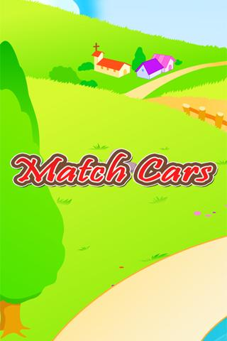 Cars Match Game for Toddlers