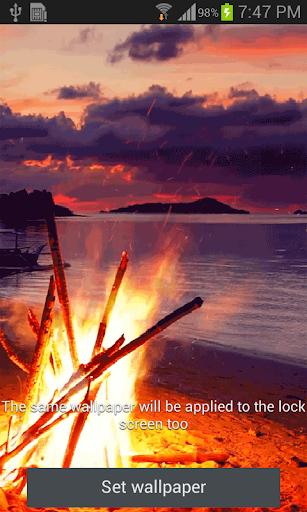 Bonfire Live Wallpaper