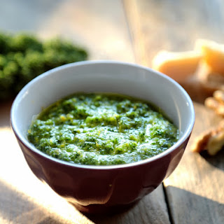 Kale, Walnut, and Lemon Pesto