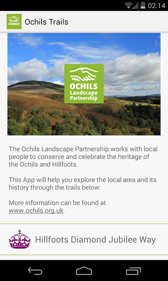 Ochils Trails- screenshot