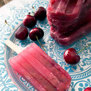 Cherry Cola Popsicles