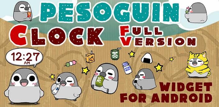 Pesoguin Clock Full Version apk