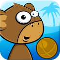 Monkey Kick Off -FREE fun game logo
