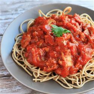 Easy Spaghetti with Tomato Sauce