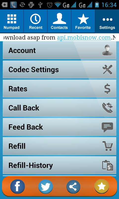 A2Billing SIP Dialer - screenshot