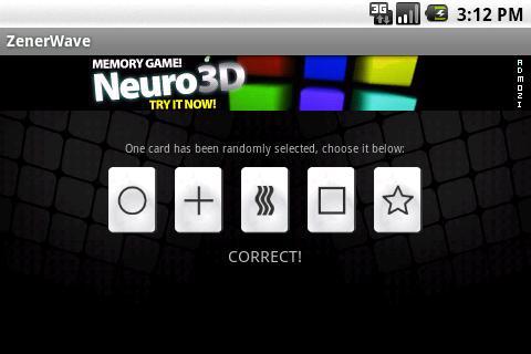 ZenerWave- screenshot