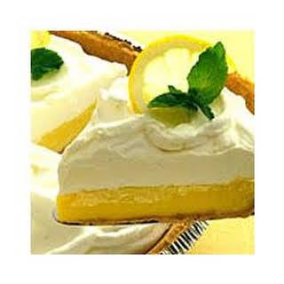 Creamy Lemon Pie.