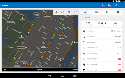 Runtastic Running & Fitness v5.2.1