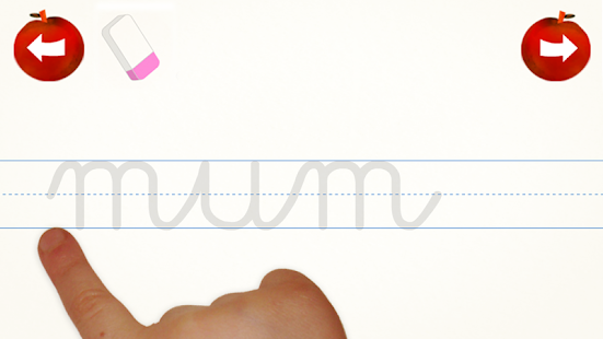 Cursive Words Writing Practice- screenshot thumbnail