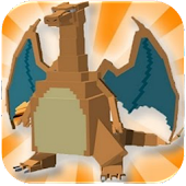 MOD FOR MINECRAFT PE PIXELMON APK for Bluestacks