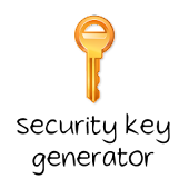 Security Key Generator