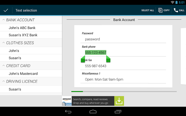 Password Manager Lite - screenshot