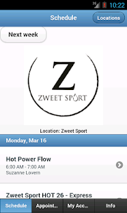 Zweet Sport Hot Yoga- screenshot thumbnail