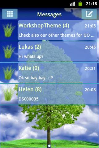 【免費個人化App】GO SMS PRO Theme Tree Buy-APP點子