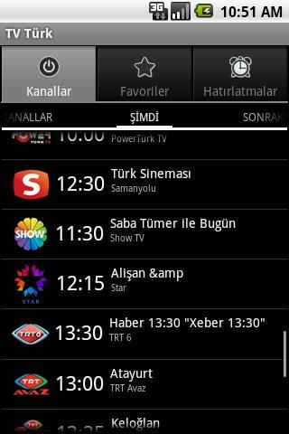 TV Turk - screenshot