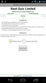 Root Quiz - Limited Screenshot 1