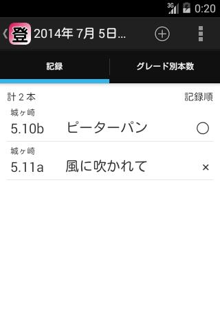 【免費運動App】クライミング記録帳-APP點子