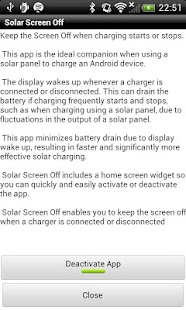 Solar Screen Off