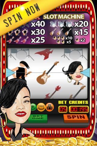 Rihanna Edition: Slot Games