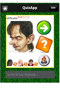 QuizApp comics footballers - screenshot thumbnail