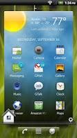 Screenshot of Dell Home Widget
