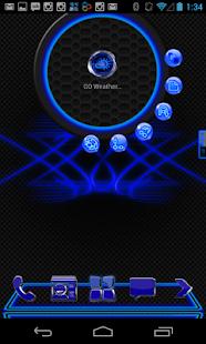 Next Launcher Theme Blue Krome|玩個人化App免費|玩APPs