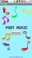 Screenshot of Foot Music
