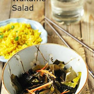 Wakame Salad (Gluten Free).