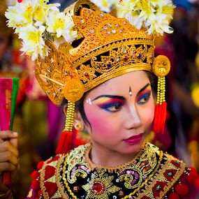 Balinese Dancer by Gde Muriarka - People Portraits of Women