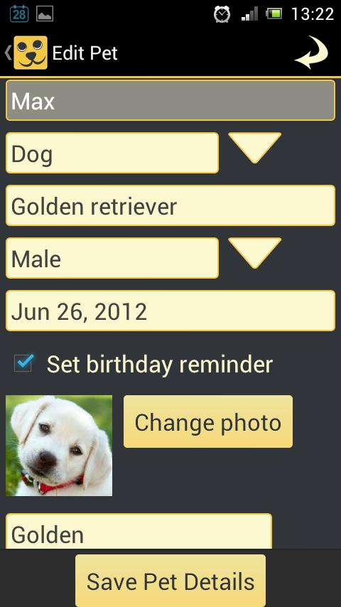 Pet Pal - Pet Health Organizer - screenshot