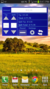 Tip Calculator Widgets - screenshot thumbnail