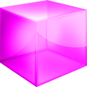 Pink Cube Theme GO Launcher EX icon