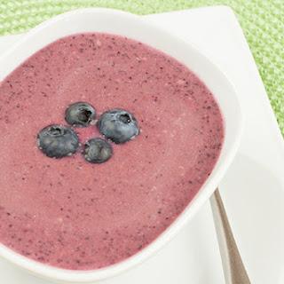 Blueberry-Lemon Dessert Soup
