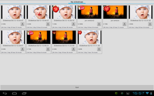 Slide Show Creator Pro - screenshot thumbnail