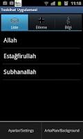 Screenshot of Tesbihat