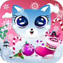 Ina Kitty Winter LiveWallpaper icon