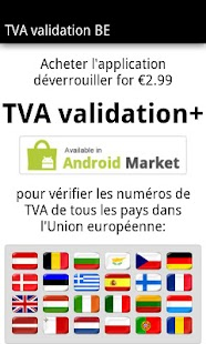 TVA validation BE- screenshot thumbnail